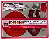 Kit Decora tus pasteles: 60 deliciosas recetas de tartas, galletas y cupcakes (Kits Cúpula)