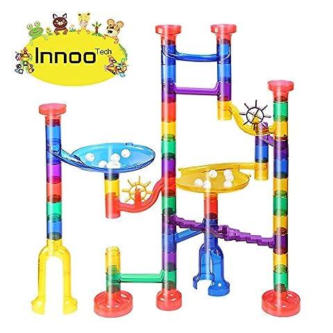 Pistas-para-canicas-Innoo-Tech-canicas-circuito-Juego-Pista-de-Canicas-de-Aprendizaje-Motricidad-Marble-Run-Sets-para-nios-de-construccin-Juego-de-educacin-para-nios-ABS-Juego-de-construccin-STEM-con-