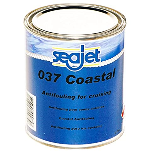 Seajet -037- Coastal Hart Antifouling Schwarz 750 ml