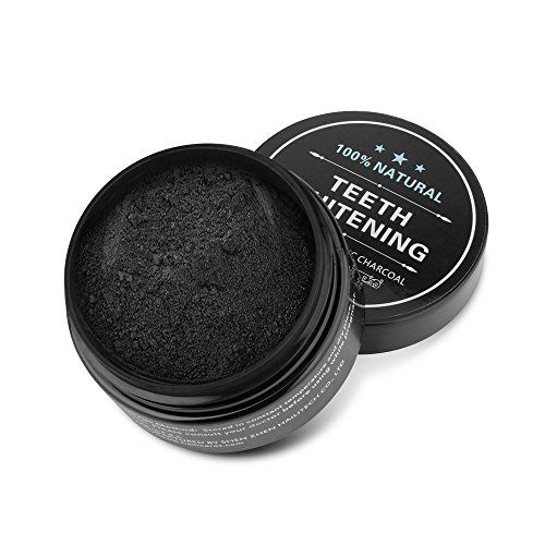 Aktivkohle Pulver Teeth Whitening Powder Natürliches Activated Charcoal Holeider Natürliches Aktivkohle Zahnaufhellung Activated Charcoal Powder