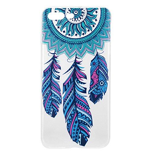 Pour Apple iphone 7 plus Plus (5,5 Pouces) Coque ZeWoo® Étui en Silicone TPU Housse Protecteur - HX014 / Flamants Roses HX015 / Le Capteur De Rêves