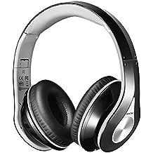 Auriculares Bluetooth de Mpow, Auriculares de Diadema Auriculares Inalambricos Estéreo de Tiempo Largo de Reproducción Auriculares Plegables con Orejeras Suaves para Teléfonos Celulares PC Tabletas