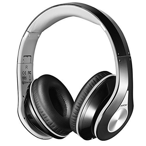 Mpow Casque Bluetooth sans Fil Casque Audio Micro Intégrée Écouteurs Stéréo Oreillette 20 Heures Jeux Continu...