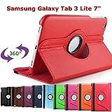 ARTLU  4en1 Housse en Luxe PU Cuir pour Samsung Galaxy Tab 3 lite 7 pouces SM-T110 +...