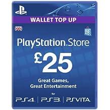Playstation Network Card - £25 (PlayStation Vita/PS3) [Importación inglesa]