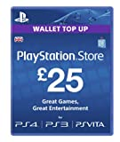 Cheapest PlayStation Network Card 25 (PSN) on PlayStation Vita