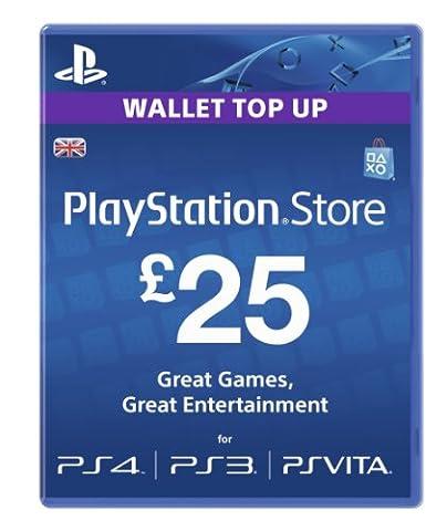 Sony PlayStation Network Card - £25 (PlayStation