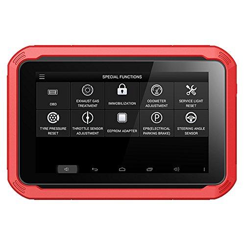 X100 Pad Professionelles PKW Diagnosegerät von Xtool, Tablet mit Autoschlüssel Programmierer, OBDII-EEPROM-Sets und Online-Updates, Englische Version