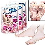 Fußschale, Fußmaske Peeling Fußschäl Maske Entfernen Harte Tote Haut Kuticles Ferse Anti-Aging (1 Paar)