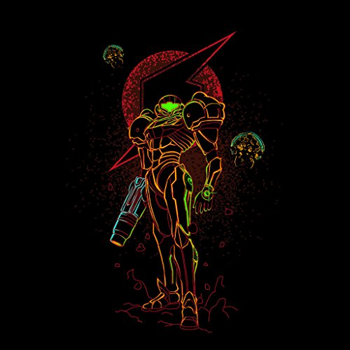 Shadow Of The Bounty Hunter Metroid Women's Sweatshirt Black