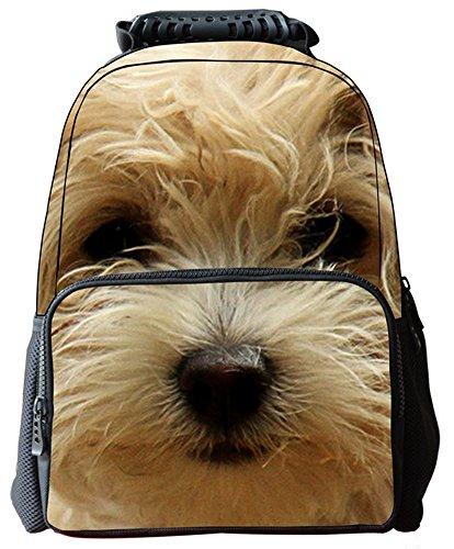 Imagen de yeah67886multifuncional portátil fieltro de protección del medio ambiente 3d  de impresión de los animales, diseño de perro