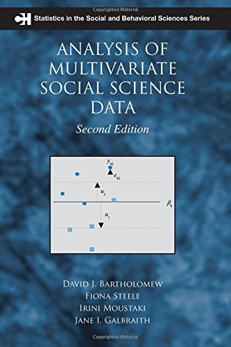 Analysis of Multivariate Social Science Data, Second Edition (Chapman & Hall/CRC Statistics in the Social and Behavioral Sciences)