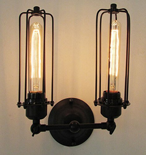 Signstek-2-Head-Vintage-Style-Retro-Wall-Sconce-Lamp-Light-Fixture-Bulbs-Not-Included