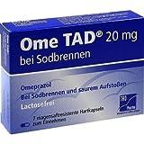 OME TAD 20 mg b.Sodbrennen magensaftres.Hartkaps. 7 St Magensaftresistente Hartkapseln