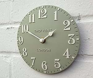 Thomas Kent Petite horloge murale en pierre arabe 15cm