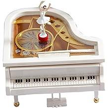 MUITOBOM grande meccanica classica pianoforte carillon ballerina balletto giocattolo musicale regalo per Natale - Libera Accessori Natale