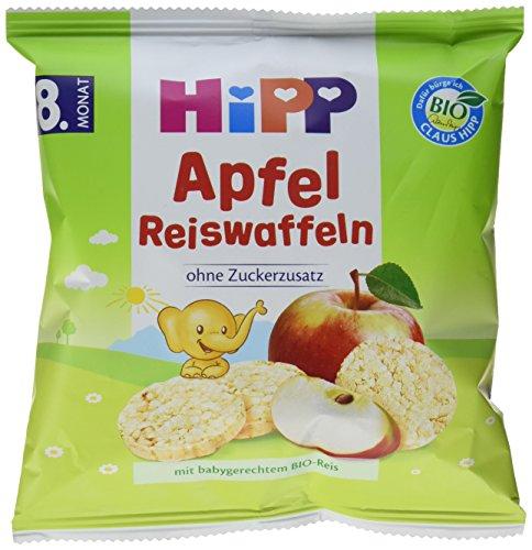 HiPP Apfel Reiswaffeln, 7er Pack (7 x 30 g)