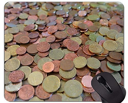 Yanteng Alfombrillas de ratón Personalizadas, Monedas de dólar Papel Dólar Base de...