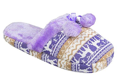 gibra, Pantofole donna Viola (lilla)