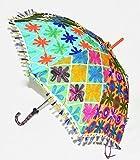 Jaipuri Embroidered Work Hand Open Sun P...