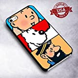 Classy Tintin Collage for Funda iphone 6 or 6s Case I5W4DP