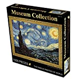 """Puzzles Puzzel 1000 stukjes - Nederlandse olieverfschilderij """"Sterrenhemel"""" Van Gogh - met speciale lijm for Jigsaw, 50 * 70CM"""