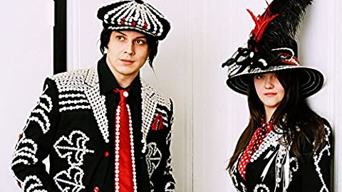 The White Stripes (25x14 inch, 62x35 cm) Silk Poster Affiche en Soie PJ1B-F6DB