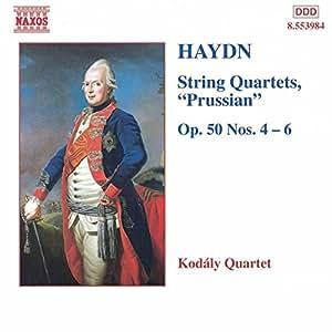 Haydn : Quatuors à cordes Op. 50, n° 4 à 6