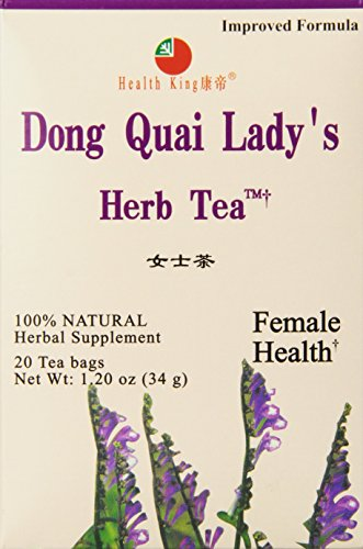 Health King Dong Quai Lady's Herb Tea, 20 BAGS
