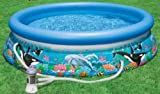 INTEX 54902 EASY-SET Oceanreef Pool mit Filterpumpe 3.05m x 76cm