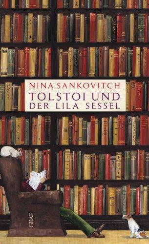 Buchseite und Rezensionen zu 'Tolstoi und der lila Sessel' von Nina Sankovitch