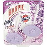 Harpic actif frais jumeaux Rim Bloc Lavande 2 x 40g