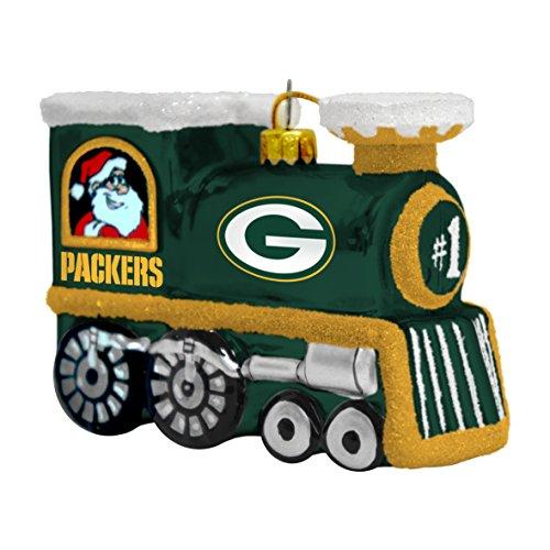 Boelter Brands NFL Eisenbahn aus geblasenem Glas, Green Bay Packers