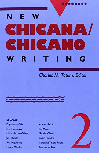 New Chicana/Chicano Writing, Volume 2