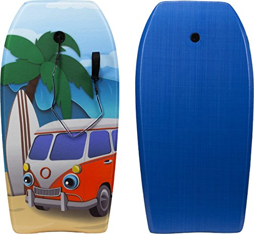 Firefly Schwimmbrett Sharky Bodyboard, Multicolor, 33