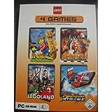 Lego 4 PC Games : Insel 2 / Schach / Legoland / Island Xtreme Stunts