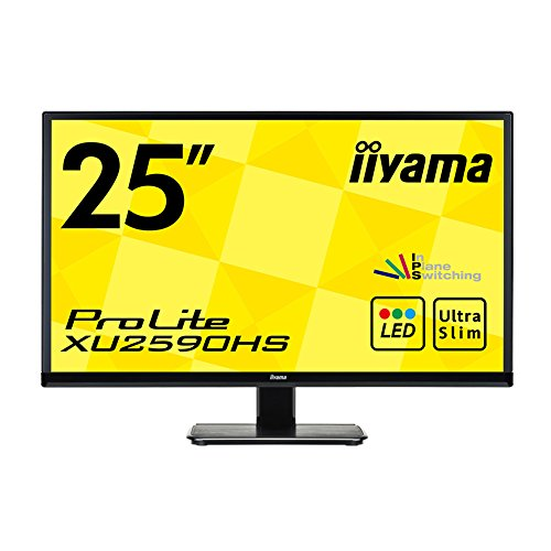 iiyama-prolite-xu2590hs-b1-25-inch-led-monitor-black-1920-x-1080-250-cd-m2-10001-5-ms-hdmi-dvi-d-vga