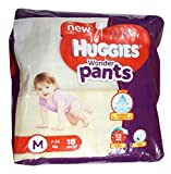 #2: Huggies Wonder Pants Diapers - Medium (7-12 kg), 18 Pieces Pack