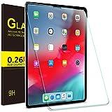 ELTD Panzerglas Schutzfolie für iPad Pro 12.9 2018, Rounded Corners 2.5D, 9H Härte, gehärtetes Glas Display Schutzfolie für Apple iPad Pro 12.9 Zoll 2018 [1 Stück]