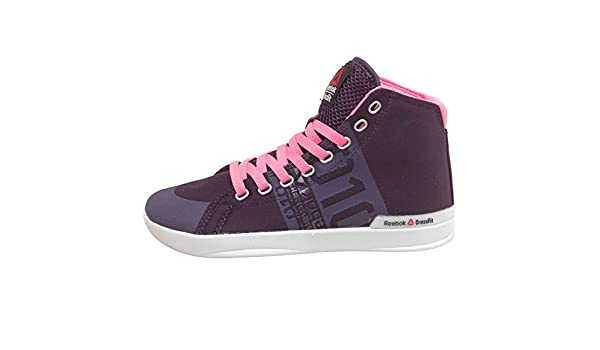 b3778611b38 Reebok Womens CrossFit Lite TR Poly Hi-Tops Purple Pink Reflection (44 UK  9.5 Euro 44)  Amazon.co.uk  Shoes   Bags
