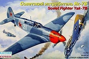 """Ark Models EE72220 - Escala 1:72 """"Yakovlevyak-7B Ruso Fighter Modelo de plástico"""