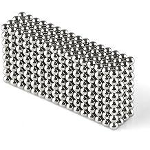 OMO 512 magnet kugel würfel Ø 2,5 mm Neodym vernickelt N42 - hält 400 g (Gold)