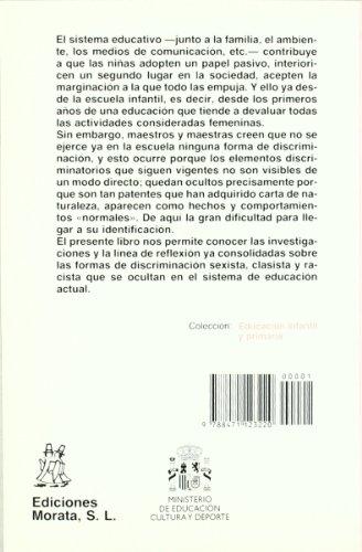 Hacia una educación infantil no sexista (Coedición Ministerio de Educación)