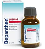 Bepanthen Liquid Solution 50 ml for hair. Bayer Bepanthen Lösung Bepantol Vitamin B5. Hair care for damaged hair. Shampoo bomba ingredient