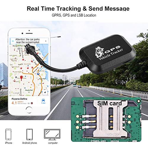 ETbotu - Rastreador GPS Universal para Coche, Moto, Dispositivo de Seguimiento Personal