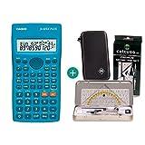 Casio FX-82SX Plus + Schutztasche + Geometrie-Set