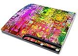 Skins4u Sony Playstation 3 SLIM Skin Aufkleber Set PS3 Designfolie - Abstract