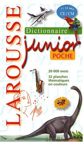 Larousse junior poche : CE/CM, 7/11 ans
