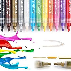 1 Stück Feine Spitze Wasserdichte Permanent Marker Stifte Marker Pens