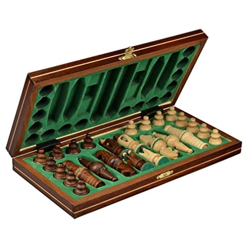 Chess-Mini-Royal-europischen-Schach-Set-Game